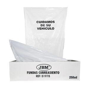 JBM Rollo de fundas de protección 18mc 250uds. – 51978