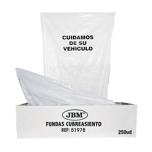 JBM Rollo de fundas de protección 18mc 250uds. 51978