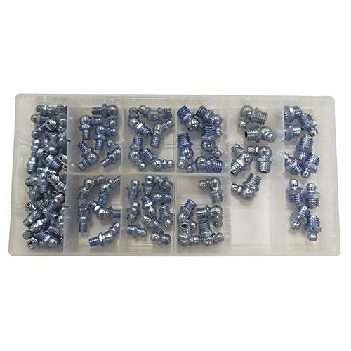 JBM Surtido de engrasadores 110 piezas 53359