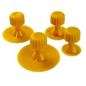 JBM Bolsa de 4 discos amarillos – 13843