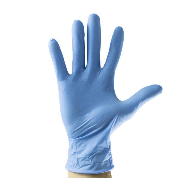 Guantes azul desechable de Nitrilo XL